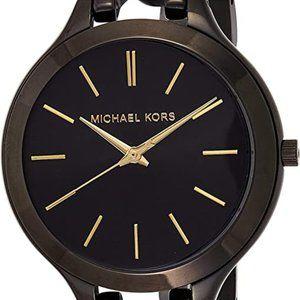 Ladies Michael Kors Black link watch! Stunning!